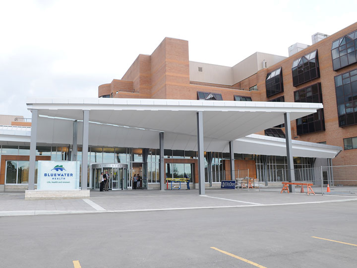 Exterior Photograph of Bluewater Health