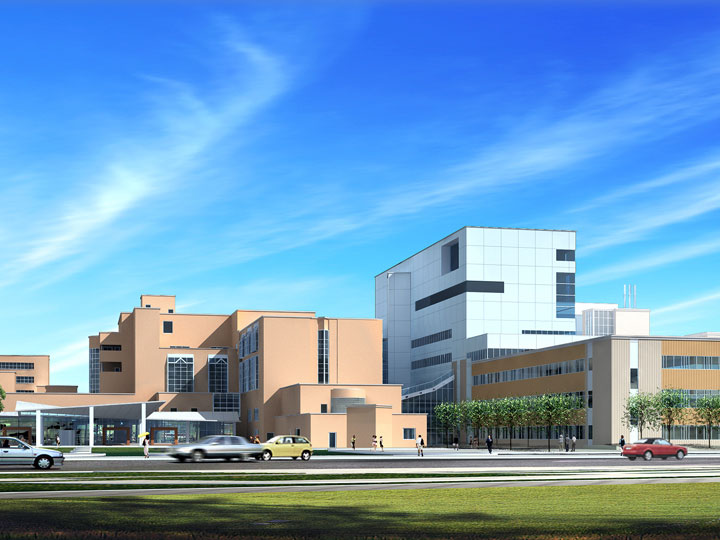 Artistic Rendering of Bluewater Health