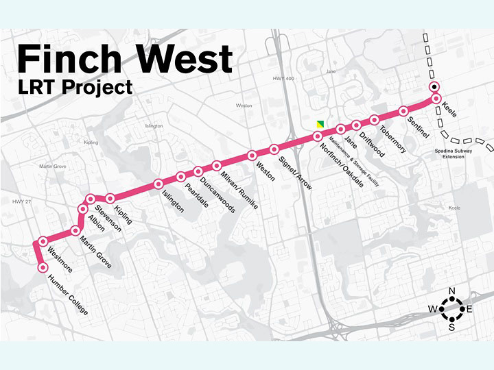 Finch_West_LRT_Map