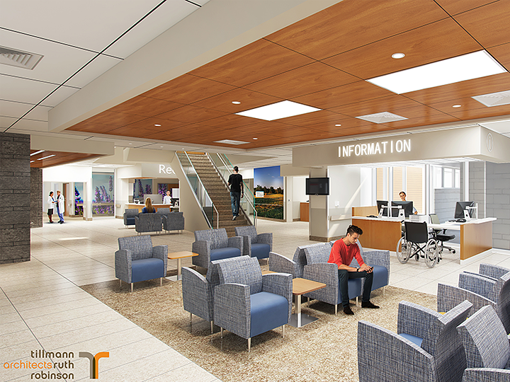 Artistic Rendering of Groves Memorial Hospital 3