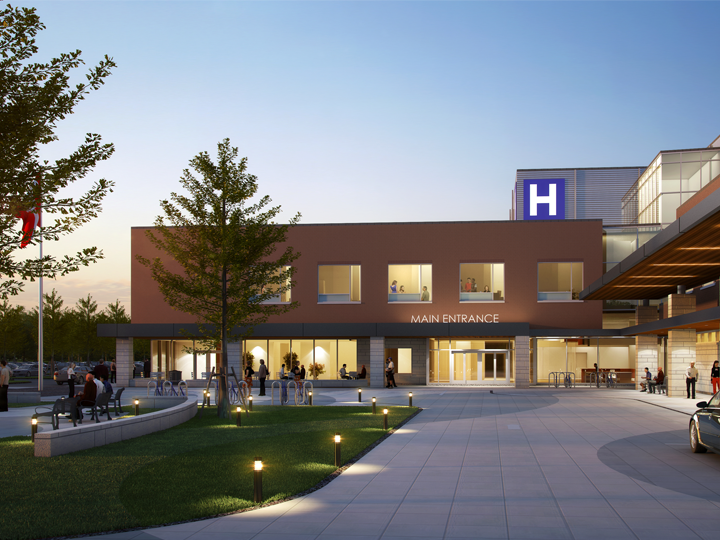 Artistic Rendering of Artistic Rendering of Groves Memorial Hospital