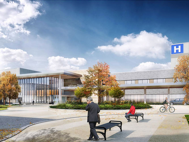 Artistic Rendering of Milton District Hospital 2