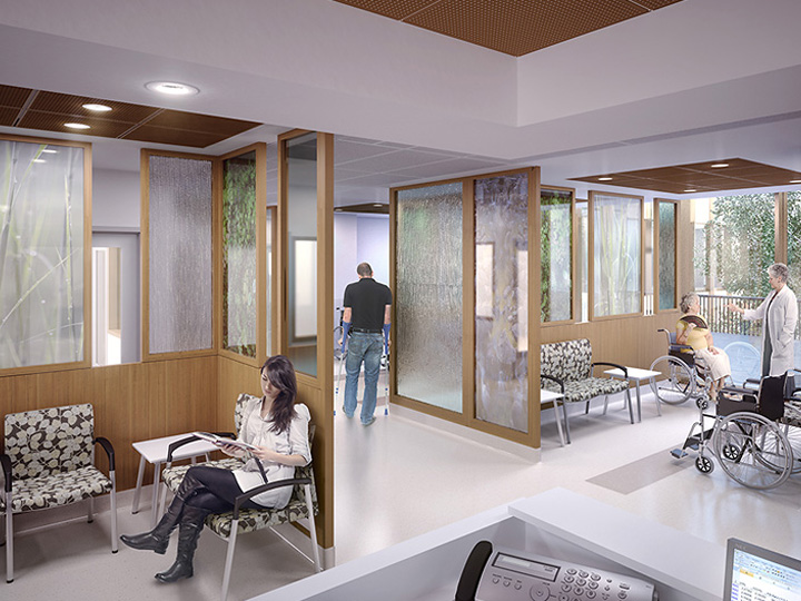 Artistic Rendering of Milton District Hospital 6