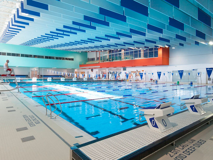 Interior Photograph of PanAm Aquatics Centre 3