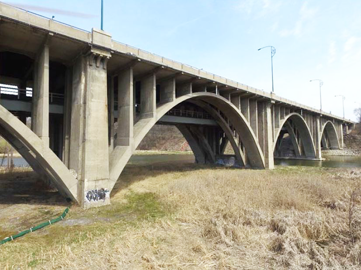 Photograph of QEW Credit River Bridge