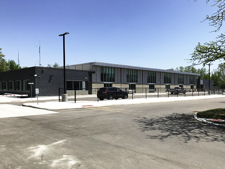 Exterior Photograph of OPP Communication Centre